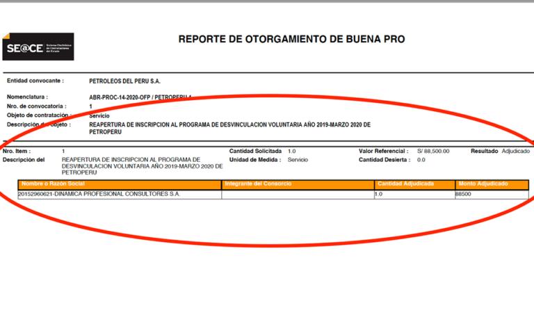 Petroperú contrata a empresa para que los ayude a despedir trabajadores