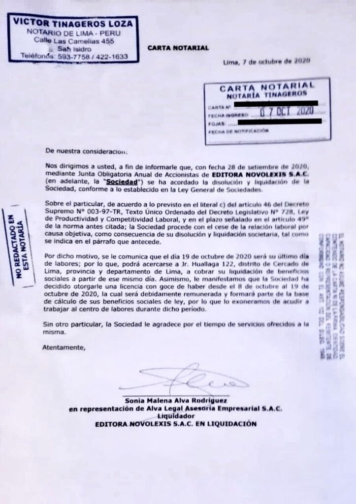 Caretas La Legendaria Revista De Enrique Zileri Entra En Proceso De Liquidacion
