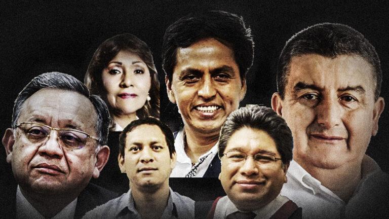 La lista de los congresistas con expedientes en el Ministerio Público