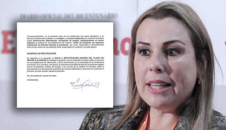 La carta de Fiorella Molinelli y nuestra respuesta