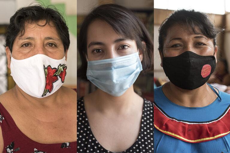 Mujeres en resistencia contra la pandemia