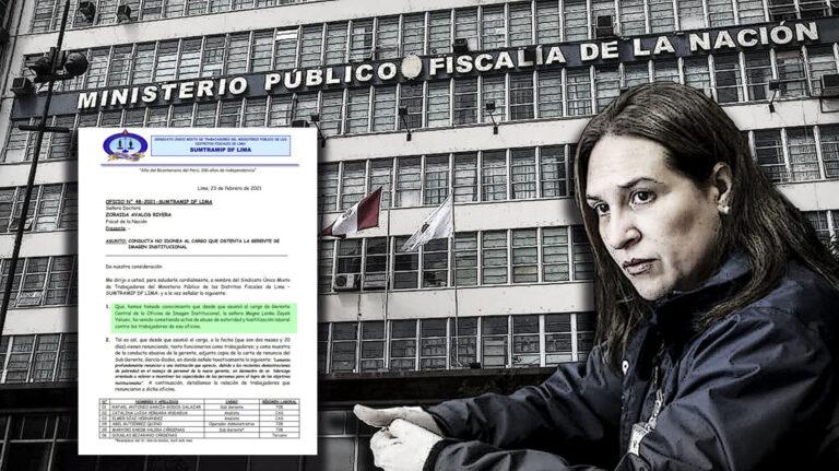 Maltrato laboral en el Ministerio Público