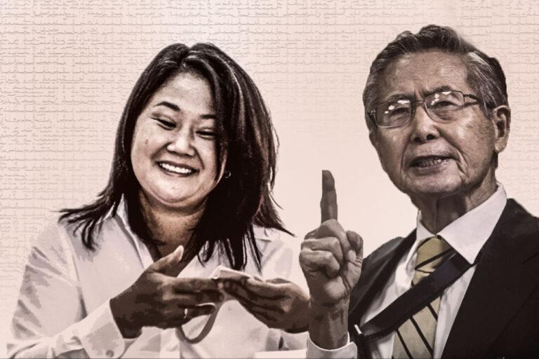 El plan de Alberto Fujimori para la segunda vuelta