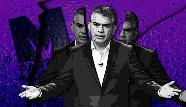 Julio Guzmán provoca un cisma en el Partido Morado