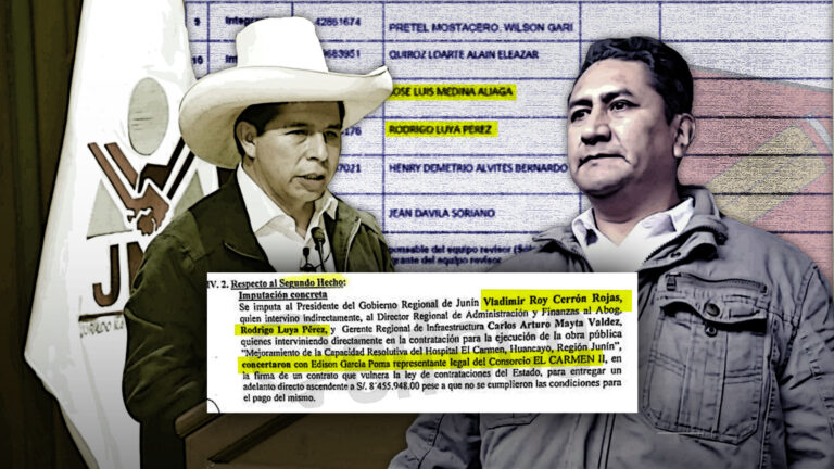Investigados por corrupción integran equipos de transferencia de Pedro Castillo