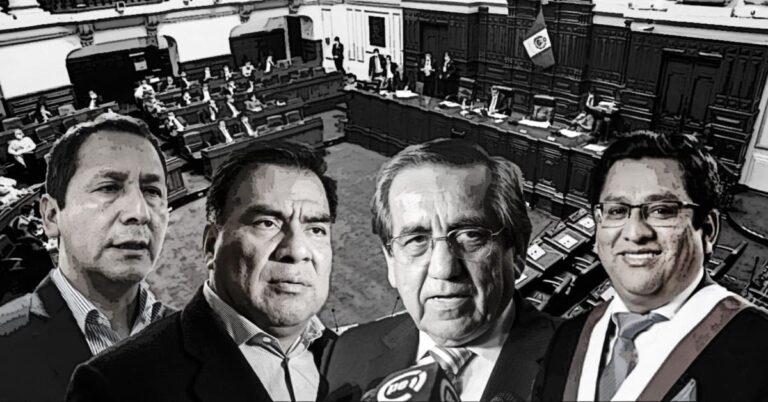 Subcomisión de Acusaciones Constitucionales blinda a cuatro excongresistas